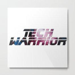 Tech Warrior Metal Print