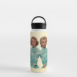 Two Different Faces... (Sisters) Water Bottle