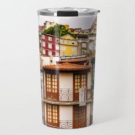Portuguese Neighborhood Travel Mug
