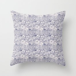 Grundy Toile of Many Parts Throw Pillow