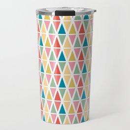 Hexagon floral 3 Travel Mug
