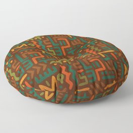 African Floor Pillow