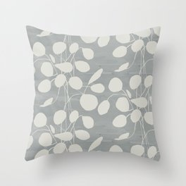 Eucalyptus Dove Throw Pillow