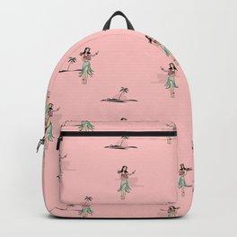 Tropical Vibes - Hula Dancer Backpack