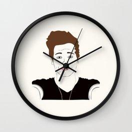 LUK E Wall Clock