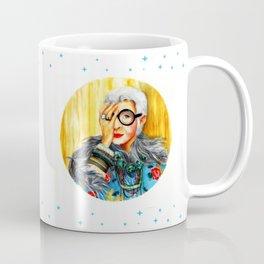 Iris Apfel.  Coffee Mug