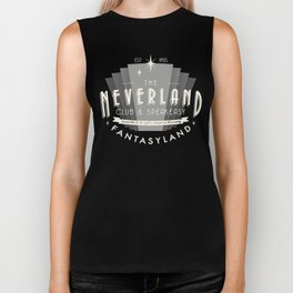 The Neverland Club and Speakeasy Biker Tank