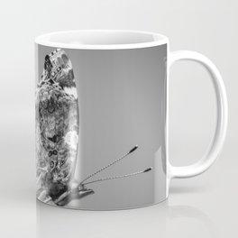 Red Admiral Butterflies Mating Coffee Mug