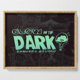 Glow in the Dark Concept Studio Merch! Serving Tray