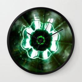 Looking Glass - Green Wall Clock
