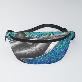 Orca killer whale and ocean Fanny Pack