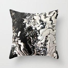 Positive or negative, you choose Throw Pillow