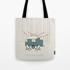 Home is where you park it Tote Bag