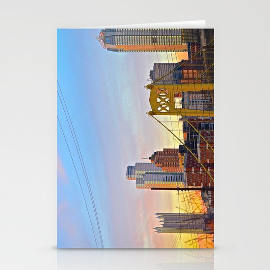 Sunset from the Southside Stationery Cards
