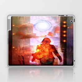 Her Infernal Exit Laptop & iPad Skin