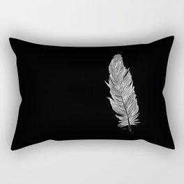 Light white feather Rectangular Pillow
