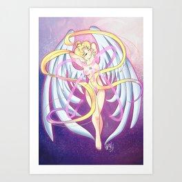 Sailor Moon Transform Art Print