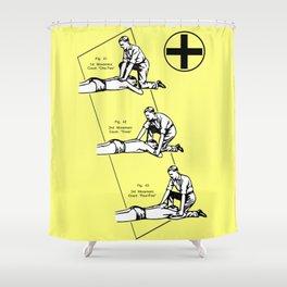 Respirado Shower Curtain