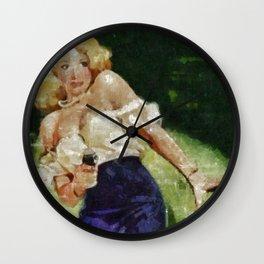 True Crime Wall Clock