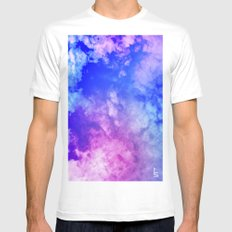 Color Foam III MEDIUM White Mens Fitted Tee