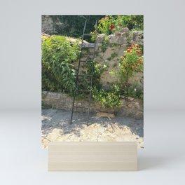 Restful Garden Mini Art Print