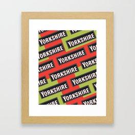 LETS AVE SOME PROPER ART Framed Art Print