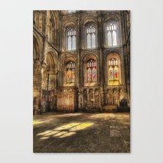 Sunlight Through the Windows Canvas Print
