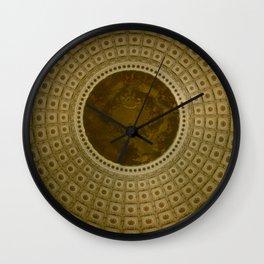 Looking Up - Capitol Rotunda, Washington DC Wall Clock