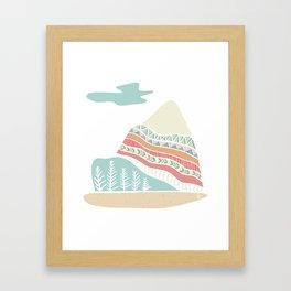 Winter Blush Framed Art Print
