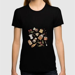Coffee Break Pattern  T-shirt