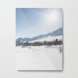 Haines Junction Metal Print
