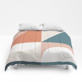 Cirque 02 Abstract Geometric Comforters