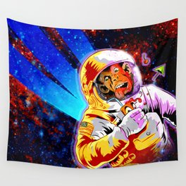 SPACE CHIMP Wall Tapestry