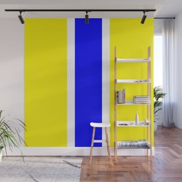 TEAM COLORS 10...BLUE,YELLOW Wall Mural