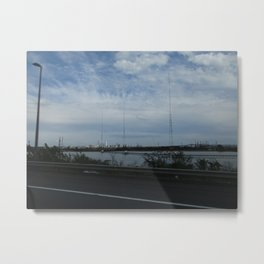 New Jersey Turnpike 2 Metal Print