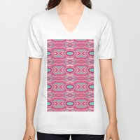 60s V-neck T-shirts featuring 60s  by cactus studio