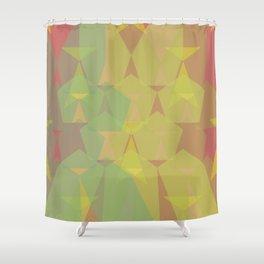 Pentagon Gummies Shower Curtain