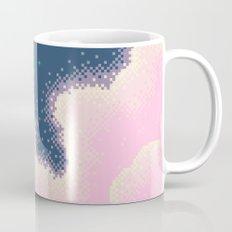Pixel Cotton Candy Galaxy Mug