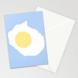 Fried Egg or 煎雞蛋 (Jiān jīdàn), 2014. Stationery Cards