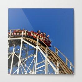 Coney Island Cyclone  Metal Print