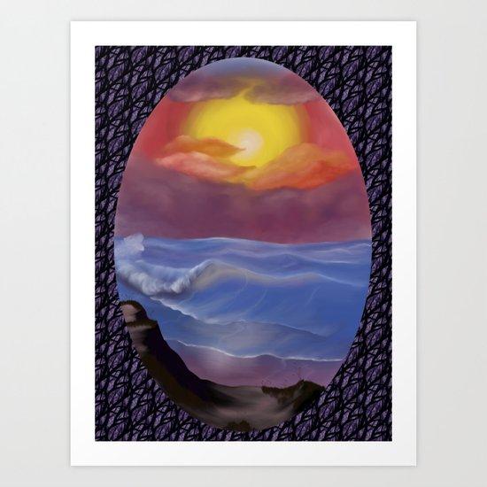 A Pastel Seascape by alishadawn