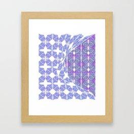 Reveal but not all Framed Art Print