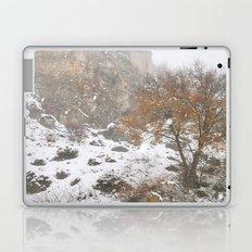 Into the snowstorm.... Laptop & iPad Skin