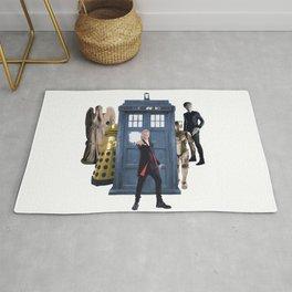 Doctor Who & Enemies Rug