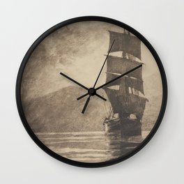 Sicilian Bark Wall Clock