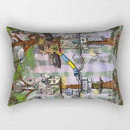 Modern Pixie Kingdom Rectangular Pillow