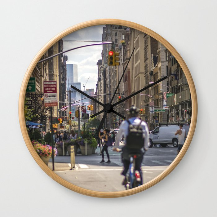 Flatiron District Wall Clock
