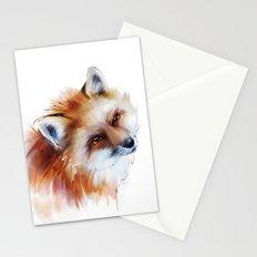 fox in love Stationery Cards
