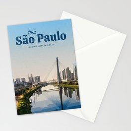 Visit São Paulo Stationery Cards