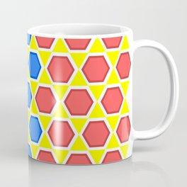 colourful hexagons Coffee Mug